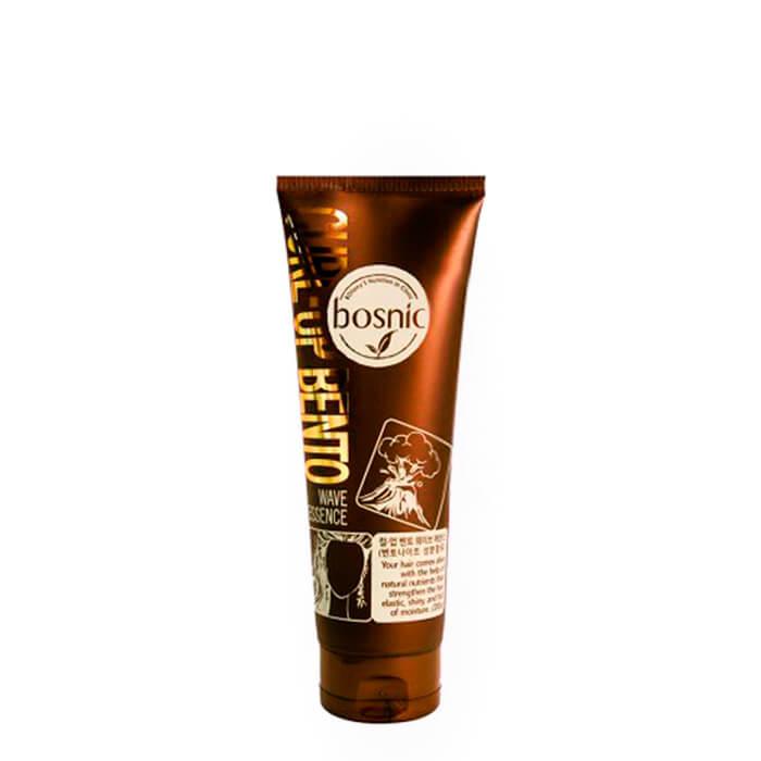 Curl-Up Bento Wave Essence - Увлажняющая эссенция для вьющихся волос с бентонитом