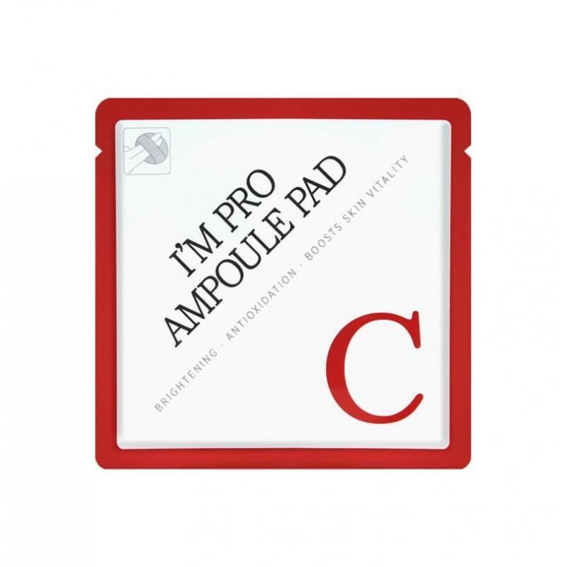 I'm Pro Ampoule Pad-C (single) - Диск для лица с Витамином С (10%) и Комплексом масел