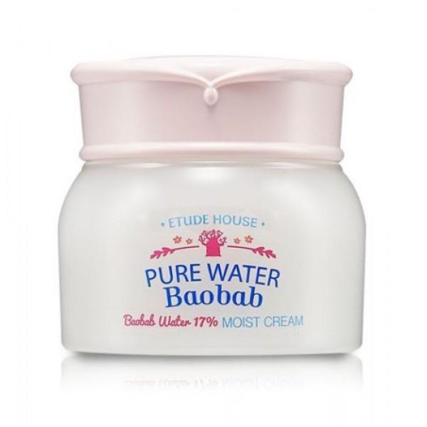 Pure Water Baobab Moist Cream - Увлажняющий крем для лица