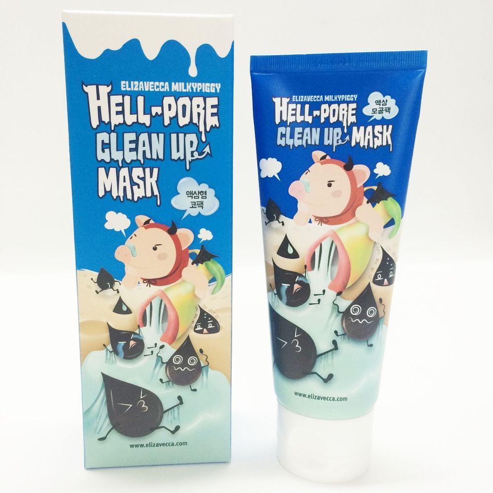 Hell-Pore Clean Up Mask -  Маска-пленка для очищения пор