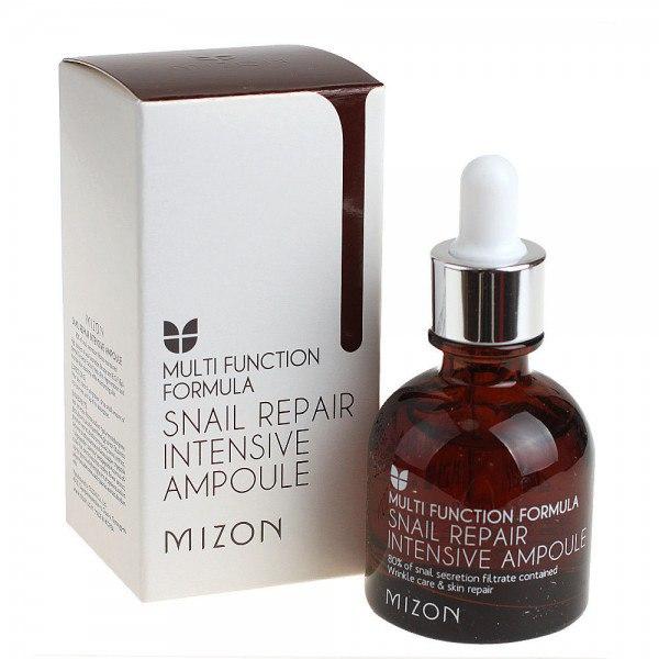 Купить со скидкой Snail Repair Intensive Ampoule - Улиточная сыворотка