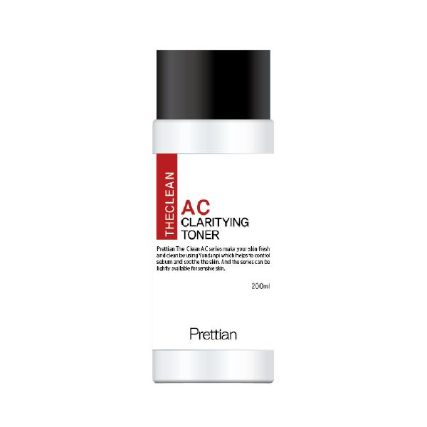 Купить со скидкой The Clean AC Clarifying Toner - Тонер для проблемной кожи